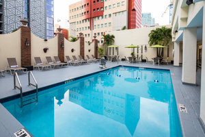 Pool - Holiday Inn Downtown Port of Miami