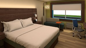 Room - Holiday Inn Express Hotel & Suites Atmore