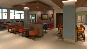 Restaurant - Holiday Inn Express Hotel & Suites Atmore