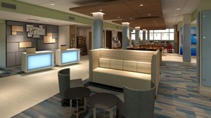 Lobby - Holiday Inn Express Hotel & Suites Atmore